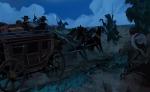 Salomon Pico robbing stagecoach